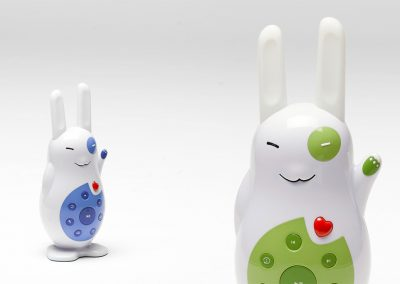 Cool bunny toy design