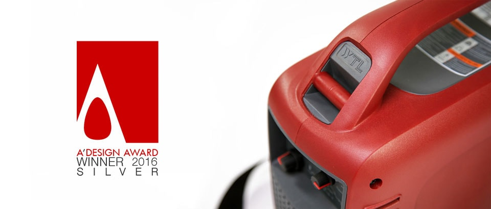 Welding machine for WTL won the A design award