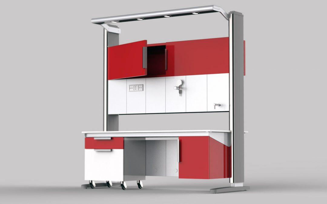 Workstation modulare laboratorio