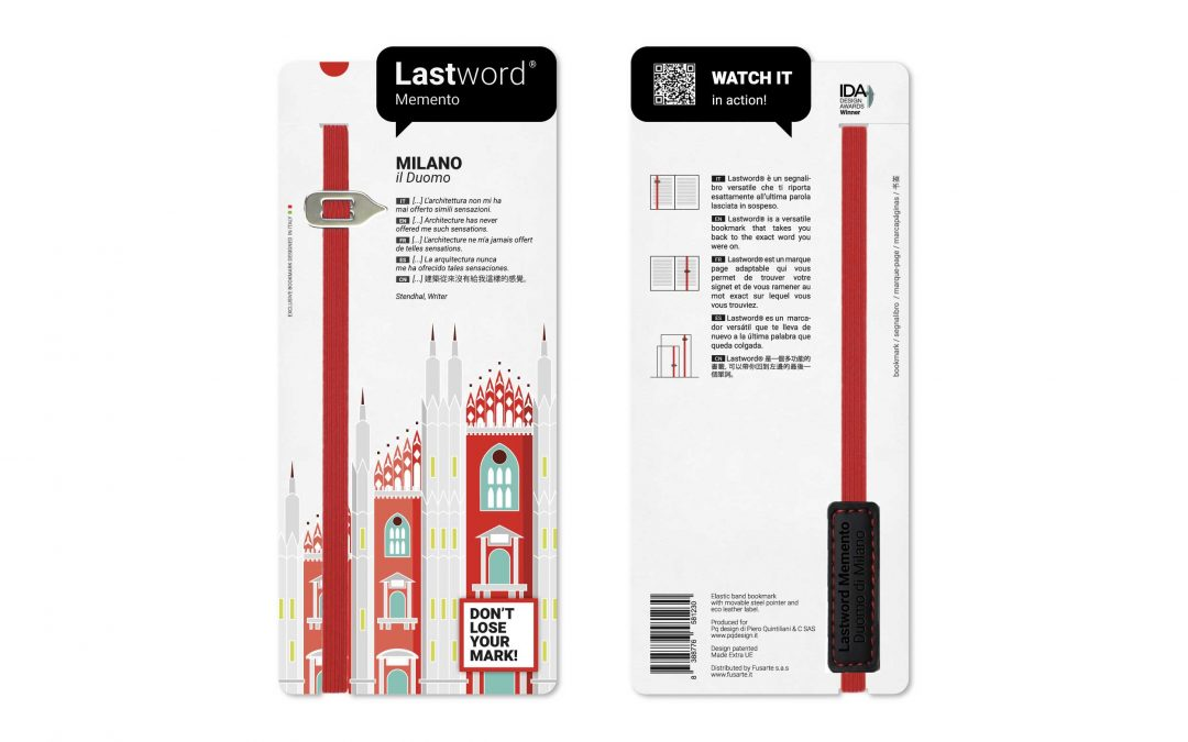 Lastword bookmark for museum