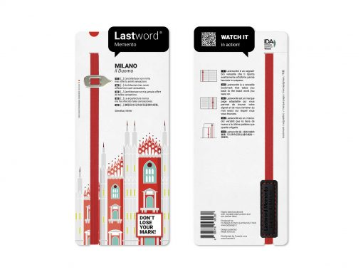 Lastword custom bookmark for museum shops